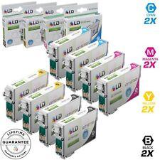 LD © 8pk Reman Cartridge Set for Epson Ink 127 T127 WorkForce 545 60 630 633 635