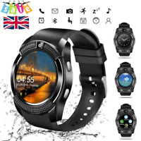 2020Waterproof Smart Watch Bluetooth GPS SIM Camera Touch Screen Fitness Tracker