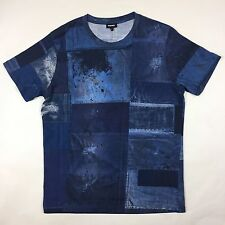 Diesel - Blue T-Joe-HY T-Shirt - Size L - *NEW WITHOUT TAGS* RRP £60