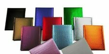 000 4x8 Any Color Matte Metallic Poly Bubble Mailers Mailing Padded Envelopes