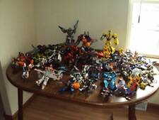 50 Piece Vintage Transformers, Takara,Tomy,Hasbro,Some for Parts Clean