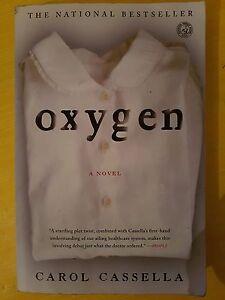 CAROL CASSELLA - OXYGEN - SIMON & SCHUSTER 2009 - LIBRO IN INGLESE
