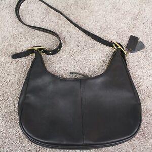 Vintage Coach Zoe West Legacy Purse Crescent Buckle Strap Leather Hobo Bag 9342