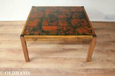 Fantastic Vintage Mid Century Danish Rosewood and Tiled Coffee Table