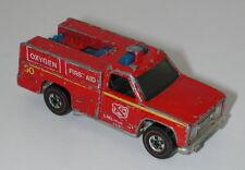 Redline Hotwheels Emergency Squad oc9567