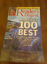 Reader's Digest May 2005 America's Best LAURA BUSH Taste & Smell Miracle Baby