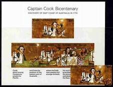 1970. Australia. Capt. James Cook. Sc.482 Stamp+s/sh