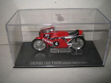 1:22 CHAMPION RACING MOTOR BIKES MOTO GP DERBI 125 TWIN ANGEL NIETO 1971 #4