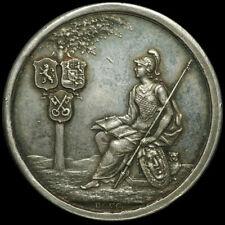 NIEDERLANDE / HOLLAND: Silber-Medaille 1775. 200 JAHRE UNIVERSITÄT LEIDEN.