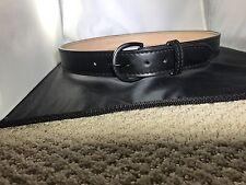 """Police""""Garrison Belt"""" SIZE 34""""  1- 1/2 Fully Lined Duty Leather Belt"""
