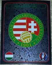 576 HUNGARY badge shiny Magyarorszag Panini Euro 2016 France sticker