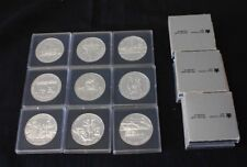 Canada Silver dollar Brilliant  1981 1982 1984 1985 1987 1988 1989 1990 1991