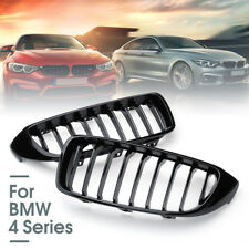 Gloss Black Front Kidney Grill Grille For BMW 4 Series F32 F33 F36 F82 Coupe AU