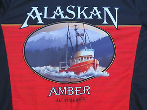 Alaskan Amber Alt Style Beer Cycling Jersey Used by Primal