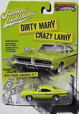 JOHNNY LIGHTNING SILVER SCREEN DIRTY MARY CRAZY LARRY 1969 DODGE CHARGER R/T #1