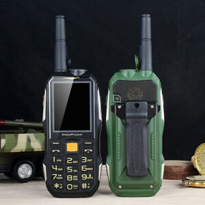 Unlock M2+ Rugged Shockproof Outdoor Mobile Phone with UHF Talkie Belt Powerbank