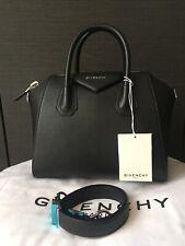 GIVENCHY ANTIGONA SMALL BAG TOTE  BLACK GOAT AUTHENTIC 100% HANDBAG TASCHE  NEW