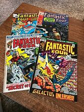 Vintage Fantastic Four Comics 90, 115, 121, 122