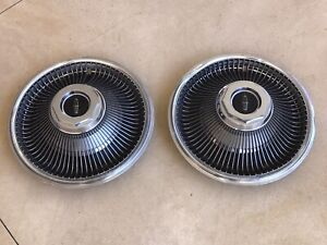 1969 Lincoln Continental MARK III Hubcaps Wheelcovers (2)