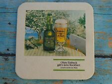 Collectible Beer Coaster  *  Brauerei EINBECK Einbecker Ur-Bock BIER  ^  GERMANY