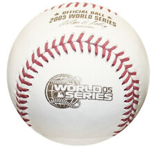 2005 World Series Rawlings MLB Official Game Baseball White Sox Boxed