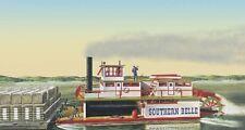 Lindberg [LND] 1:64 Southern Bell Paddle Wheel Steamship Model Kit 201 LND201