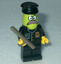 SPONGEBOB #14 Lego Bikini Bottom Police Officer Custom  NEW Genuine Lego parts