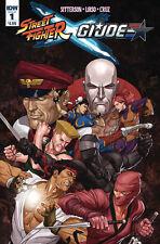 STREET FIGHTER X G.I. JOE (2016) #1 VF/NM IDW