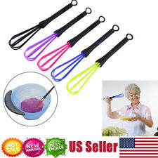 5Pcs Salon Barber Hairdressing Hair Color Dye Cream Whisk Kitchen Balloon Mixer