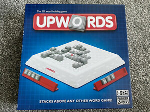 UPWORDS, Similar To Scrabble, Parker Brothers, Board Game Excellent Condition