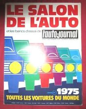 L'AUTO-JOURNAL  N° SPECIAL SALON 1975  de SEPTEMBRE 1975