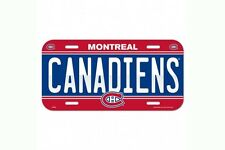 Montreal Canadiens License Plate