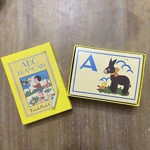 Cavallini & Co. French Flash Cards ABCs Retro Reproduction Francois