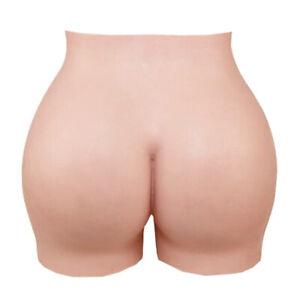 Silicone Panty Fake Vagina Thicken Hip Shorts Underwear Transgender Crossdresser