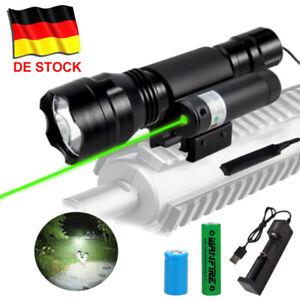 Combo Laser Sight LED Taktische Taschenlampe 20mm Picatinny Schiene Schalter