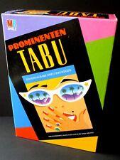 Prominenten TABU / 1992 / VOLLSTÄNDIG /  MB Spiele / TOP ZUSTAND