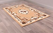 Ultimate Sandringham Berber Traditional Aubusson Style Rug in various sizes