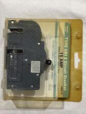 New listing Connecticut Electric Ubiz-15 (Zinsco) Type Ubi Z 15 amp 1 Pole Circuit Breaker