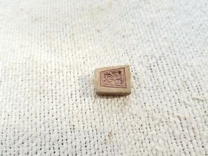 Old Original Beautiful Pendant Design Bell Metal Bronze Jewellery Stamp Dye (CG)