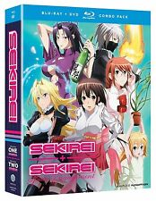 Sekirei: The Complete Series - Seasons One and Two (BD/DVD, 2013, 9-Disc Set)