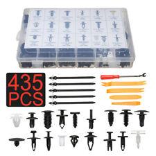 435 PCS Plastic Clip Car Body Retainer Push Pin Trim Rivet Panel Mould Tool New