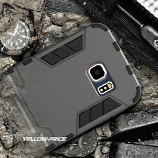 NEW Armor Hard Bumper Back case Defender Stand Cover for Samsung Galaxy S6 Edge