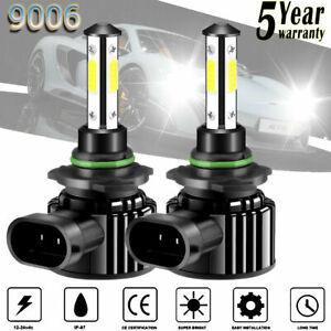 2x CREE 9006/HB4 LED Headlight Kit Bulbs 235000LM High or Low Beam 6000K White