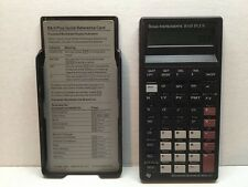 Vintage Texas Instruments TI BA II Plus Business Analyst Financial Calculator B7