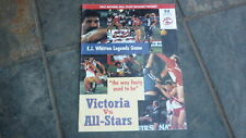 OLD AFL FOOTBALL RECORD, 1997 EJ WHITTEN LEGENDS GAME, VICTORIA v ALL STARS