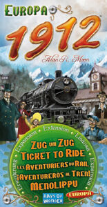 Ticket To Ride Europa 1912 Expansion (New)