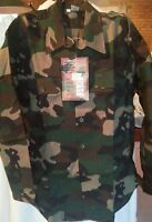 Military Army Hunting Camping Tactical - Long Sleeve Shirt-WOODLAND JUNGLE CAMO