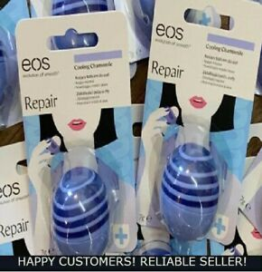2x QTY EOS Repair Cooling Chamomile Lip Balm New