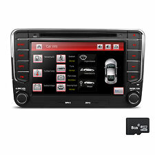 DVD GPS Autoradio für VW GOLF 5 6 PASSAT TIGUAN TOURAN Sharan POLO Caddy SEAT BT