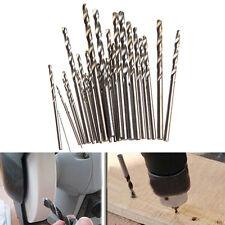 28Pcs Micro HSS Twist Drill Bits Set Metric Sizes 0.3-3.0mm For PCB Crafts